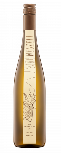 Flasche Riesling Loiserberg